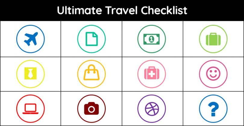 travel checklist for the Philippines