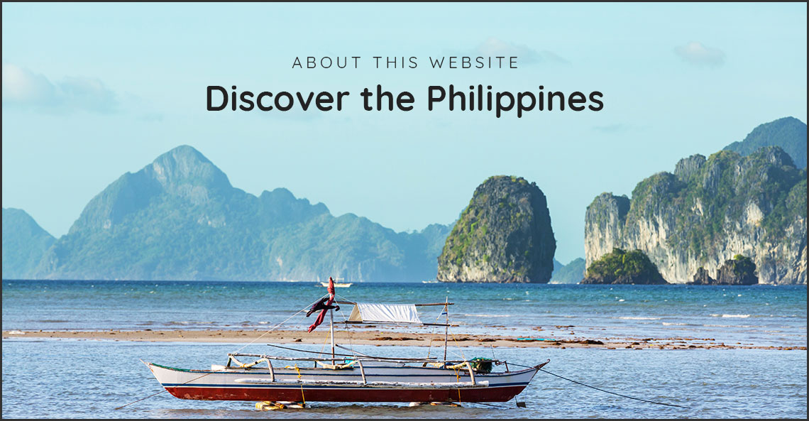 About this Website: Discover the Philippines