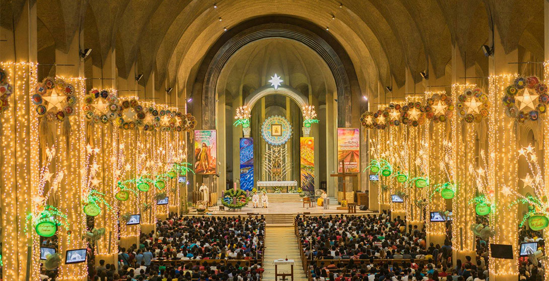 Simbang Gabi one of the traditions of Christmas in the Philippines