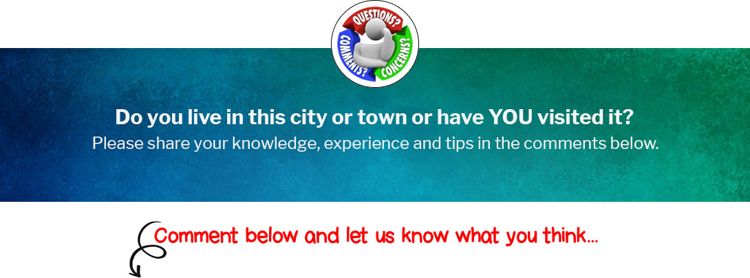 Do you live in this City or Town or have YOU visited it?