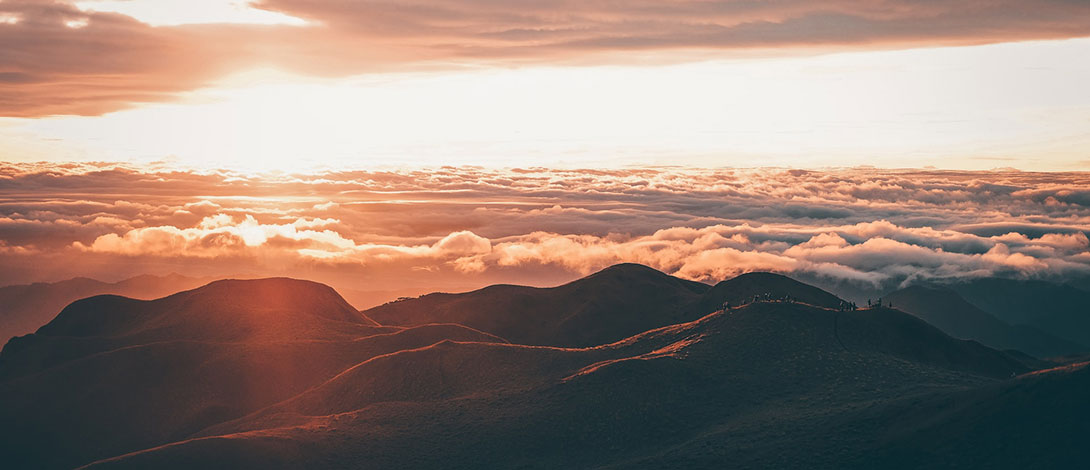 A View from Mt. Pulag