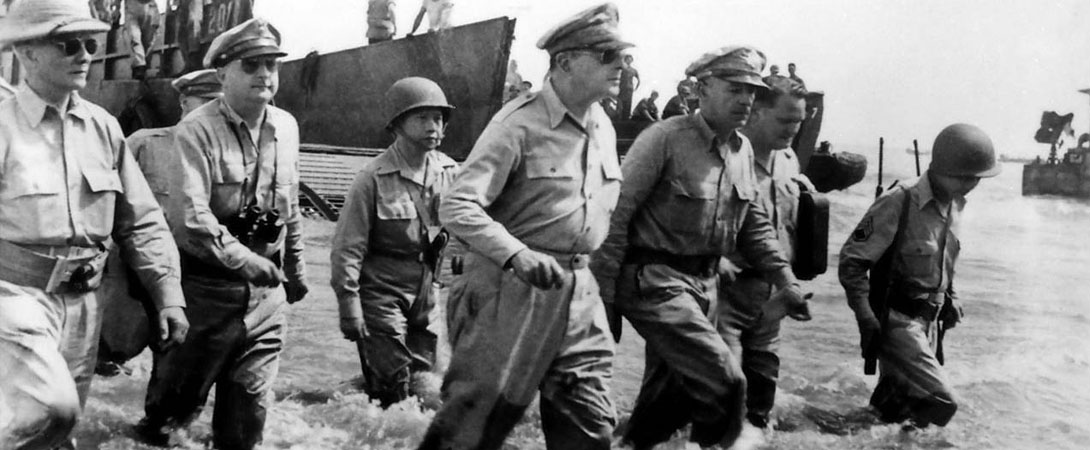 General MacArthur Returns to the Philippines