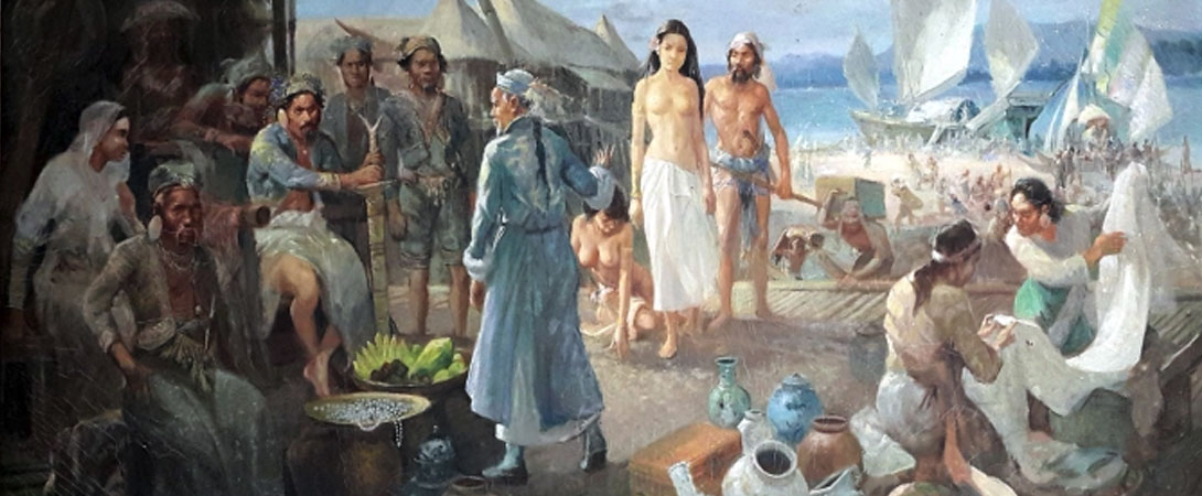 A Painting of Pre-Colonial Filipino-Chinese Trade
